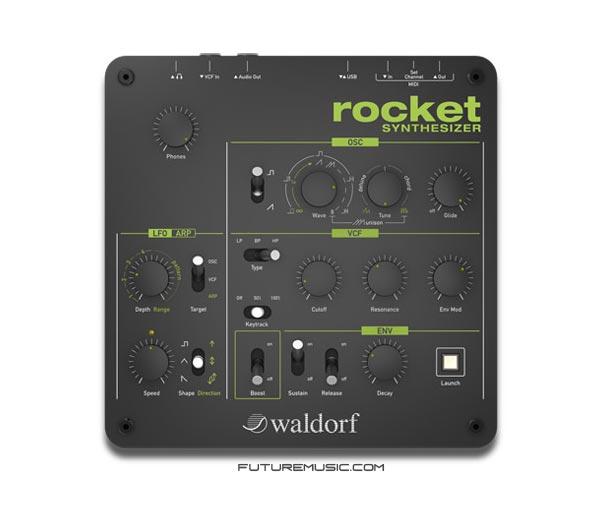 waldorf-rocket synth