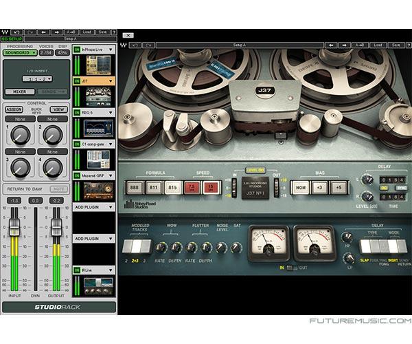 waves soundgrid studiorack
