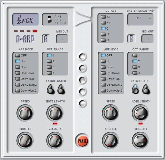 WOK Releases D-Arp – Dual MIDI Arpeggiator Plug-In