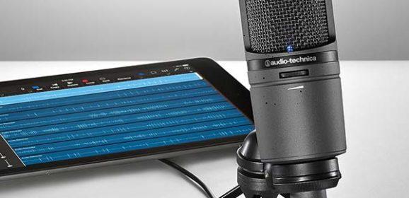 Audio-Technica AT2020USBi Cardioid Condenser USB Microphone For iPad / iPhone