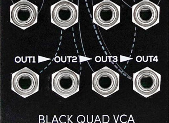 Erica Synths Releases Black Quad VCA Module