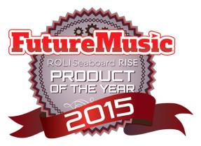 Roli Seaboard Rise Named FutureMusic 2015 Product Of The Year