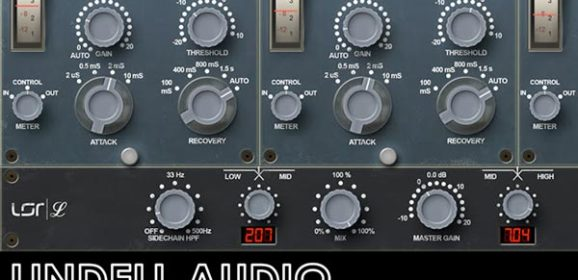 Lindell Audio Releases 354E Plug-In – Multiband Model Of Neve 2254ETM Compressor