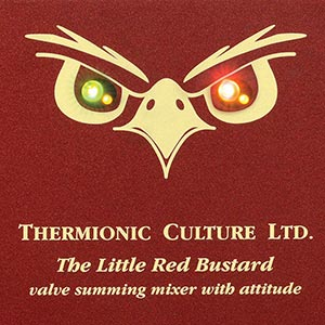 Thermionic Culture Unleashes The Little Red Bustard