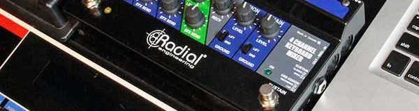 Radial Engineering Releases Key-Largo – Expensive Sub Mixer For Live Keyboardists