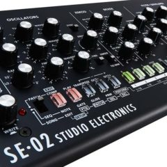Roland & Studio Electronics Partner On SE-02 Boutique Designer Analog Monophonic Synthesizer