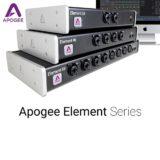 Apogee Announces Element Series Thunderbolt Audio Interfaces
