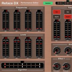Confusion Studios Premiers MDDX1 & MDDX2, New iPad MIDI Controller Apps For Yamaha Reface DX