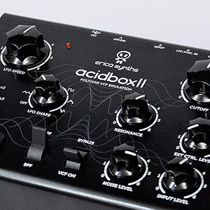 Erica Synths Releases AcidBox II,  New Russian Polivoks Voltage Controlled Filter Emulation