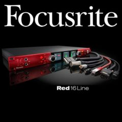 Focusrite Announces Red 16Line Audio Interface
