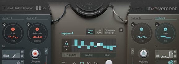 Output Releases Movement, Rhythmic Effects Plug-In