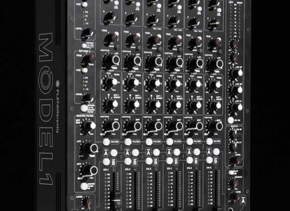 Richie Hawtin & Andy Rigby-Jones Finally Debut MODEL1 DJ Mixer