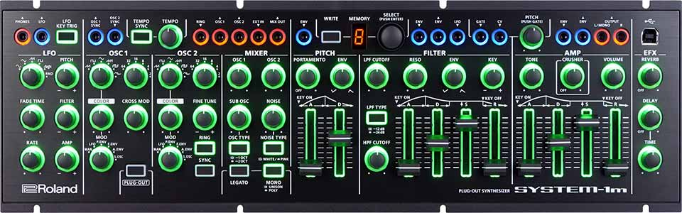 Roland Officially Unveils Aira System-1m Modular
