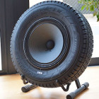 The Seal Recycled Tire Speaker
