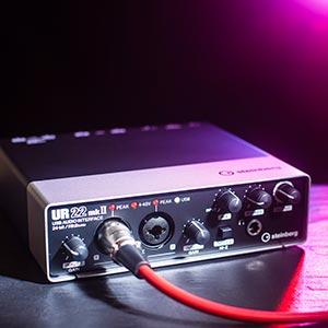Steinberg Announces UR22 mkII – Upgraded MIDI & Audio Computer Interface