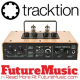 Tracktion Premiers Copper Reference Stereo Vacuum Tube Audio Interface